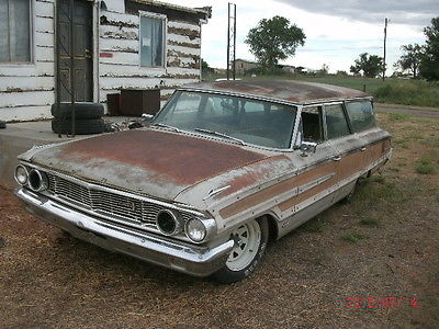 Ford : Galaxie Country Squire 1964 ford galaxie country squire 390 thunderbird