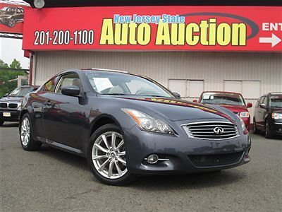 Infiniti : G37 AWD Infiniti G37 Coupe AWD Leather Sunroof Navigation Back Up Camera Low Miles 2 dr