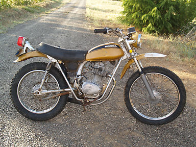 1971 honda 125 sl motorcycles for sale