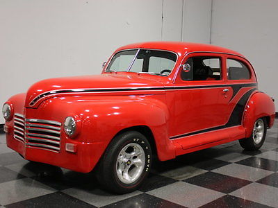 Plymouth : Other PRICED TO MOVE POSTWAR PLYMOUTH STREETROD, CUSTOM COLOR COMBO, 350 V8, AUTO!!
