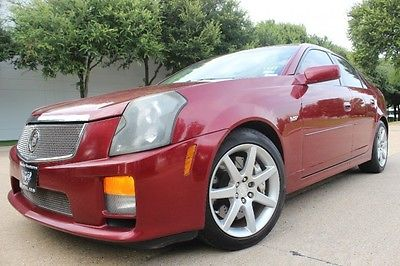 Cadillac : CTS Sedan 2005 cadillac cts v power ls 1 manual 6 spd vette