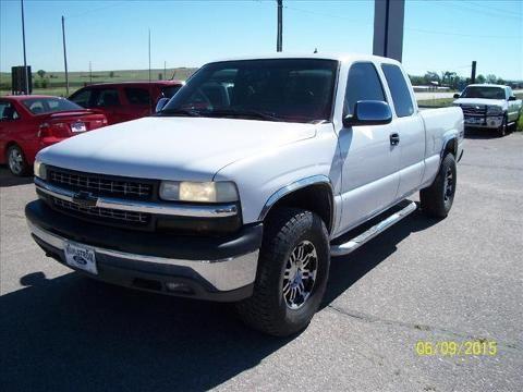 2001 CHEVROLET SILVERADO 1500 4 DOOR EXTENDED CAB TRUCK
