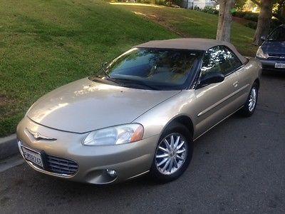 Chrysler : Sebring Chrysler Sebring Convertible 2003