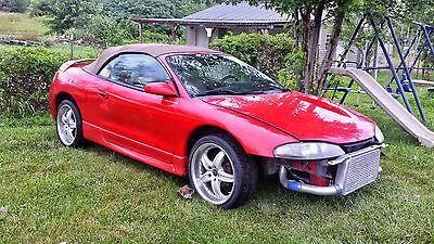 Mitsubishi : Eclipse Spyder Gst 1997 mitsubishi eclipse spyder gst convertible 2 door 2.0 l