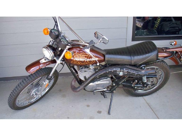 1978 Harley-Davidson HARLEY DAVIDSON SX 250 AMF