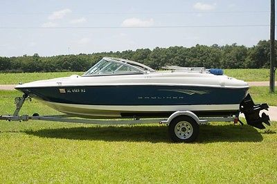 Bayliner 175 Power Boat with Galvanized Trailer and Boat Cover 2010 model