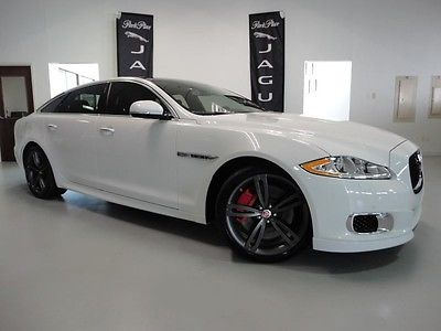 Jaguar : XJ L 510 hp illumination package power rear shades carbon fiber engine cover