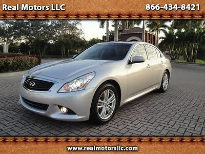 Infiniti : G37 G37 Journey, Base, 2WD 2013 infiniti g 37 journey 28 k mi navigation sensors camera heated sunroof