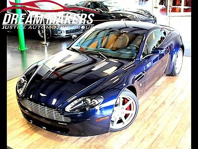 Aston Martin : Vantage Base Hatchback 2-Door 2007 aston martin vantage 6 speed manual 2 door coupe