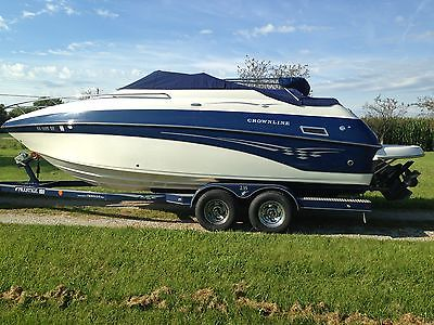 Crownline 235 ccr  power boat , cuddy cabin cruiser bravo 3