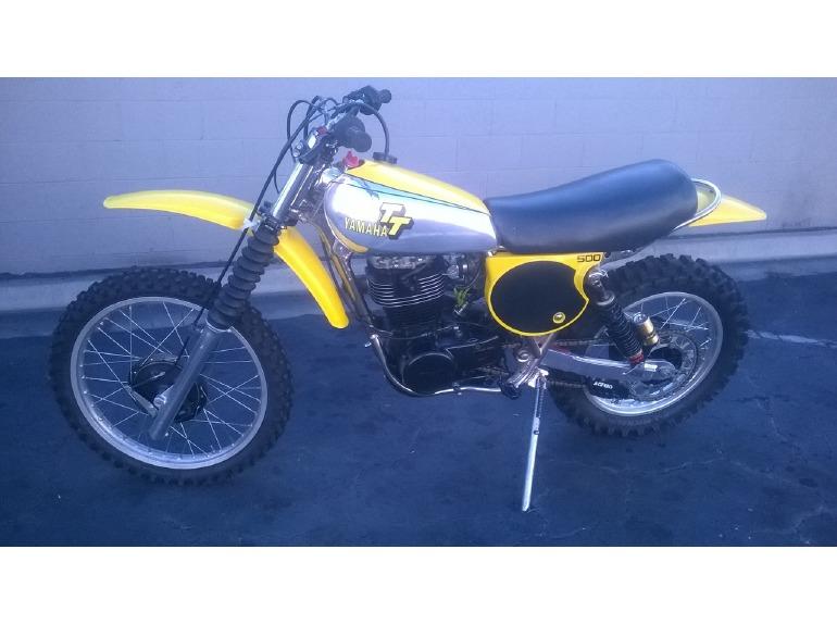 1979 Yamaha Tt500
