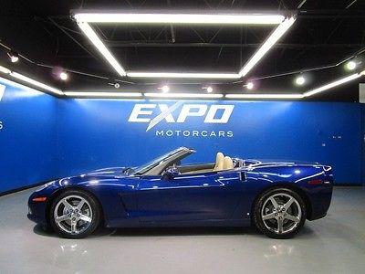 Chevrolet : Corvette Base Convertible 2-Door Chevrolet Corvette Convertible Automatic Bose Xenon Heated Seats Head Up Display