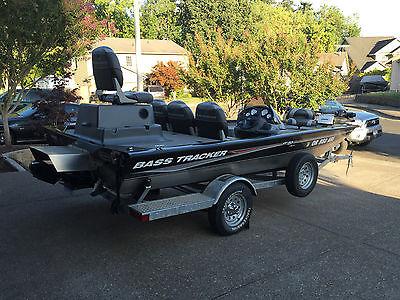 2005 Bass Tracker Proteam 185 Sport Jet Boat Aluminium Boat with Trolling Motor