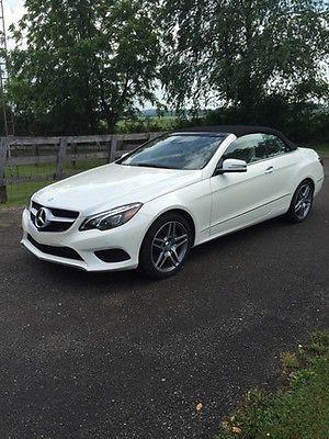 Mercedes-Benz : Other E400 Convertible 2015 mercedes benz e 400 convertible loaded sport lighting lane park pkgs