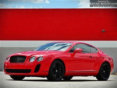 Bentley : Continental GT 2dr Coupe Supersports 2010 bentley continental supersports loaded msrp 279 k