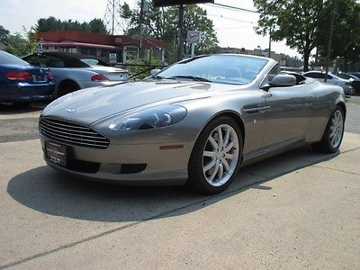 Aston Martin : DB9 Volante Convertible 2-Door 9500 low miles free shipping warranty volante exotic rare collector v 12 conv