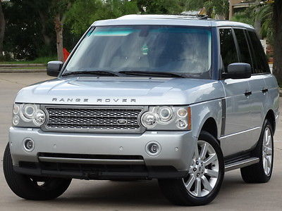 Land Rover : Range Rover LUXURY PKG 2007 land rover range rover supercharged luxury pkg rear entertainment serviced