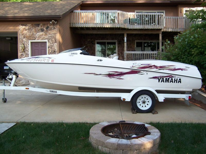Boats for sale in newaygo michigan for Yamaha jet boat reliability