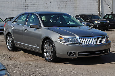 Lincoln : MKZ/Zephyr AWD Only 39K AWD Sync Sunroof Xenons Parking Sensors Rebuilt Salvage Fusion MKS 08