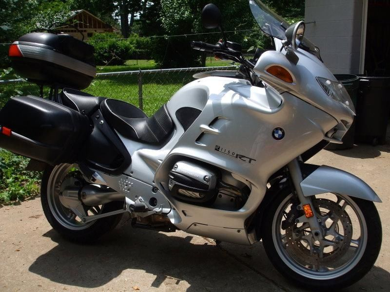2002 BMW R1150RT w/ABS brakes, 27K miles, assessories included