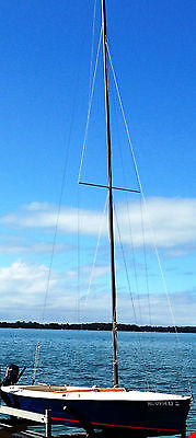 Lightning Sailboat with Trailer and Cover
