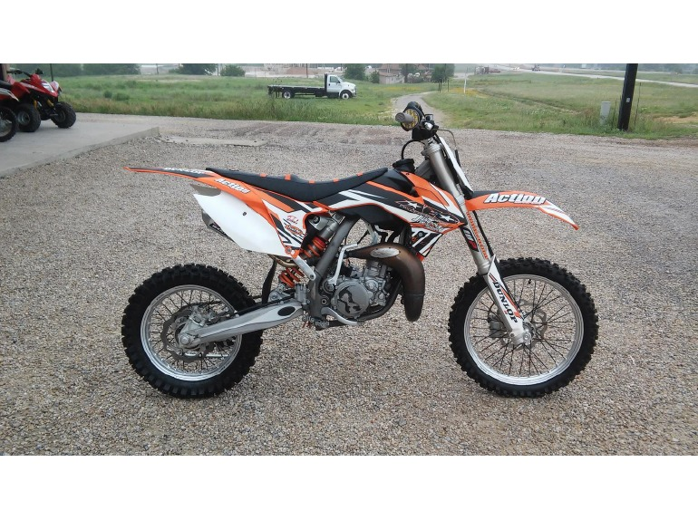 2013 ktm 85sx motorcycles for sale in decatur texas. Black Bedroom Furniture Sets. Home Design Ideas