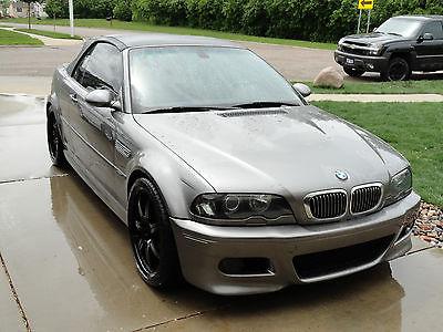 BMW : M3 2002 e 46 m 3 convertible smg dinan