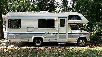1989 Jamboree Rallye. Tailgating or camping