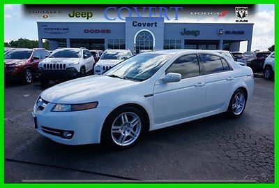 Acura : TL 4DR SDN AT D02072A Used Acura 4DR SDN AT White Premium 4dr 3.2L V6 24V Automatic FWD