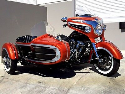 Indian : CHIEFTAIN 2015 indian chieftain custom with sidecar