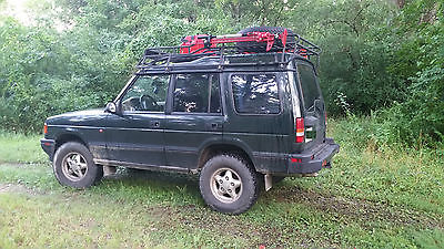Land Rover : Discovery SE Sport Utility 4-Door 1996 land rover discovery se 4.0 l terra firma suspension offroad accessories