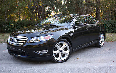 Ford : Taurus SHO Sedan 4-Door 2011 ford taurus sho awd excellent condition tuxedo black leather nav