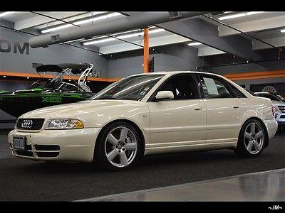 Audi : S4 S4 QUATTRO 6 SPEED MANUAL BOSE NICEST AROUND 2001 audi s 4 s 4 quattro 6 speed manual bose nicest around 6 speed manual 4 door