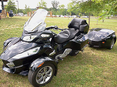 Can-Am : Spyder 2011 canam spyder rt w trailer black sm 5 audio convenience package