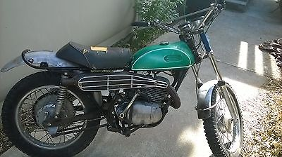 Yamaha : Other 1969 yamaha dt 1 running classic vintage enduro parts bike dt 1 250 cc dt 250