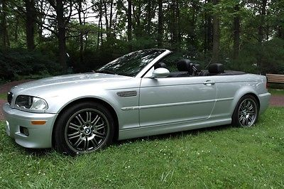 BMW : M3 Base Convertible 2-Door MINT 2004 BMW M3 SMG CONVERTIBLE ONLY 29K MI LOADED INSPECTED SVC HISTORY LQQK!!