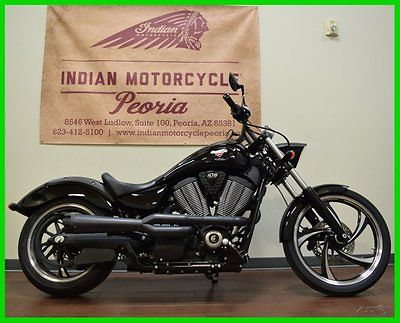 Victory : Vegas® 2014 victory vegas 8 ball gloss black cruiser custom 106 used
