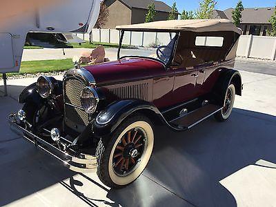 Chrysler : Other Phaeton 1926 chrysler phaeton model g 70 convertable touring car vintage antique auto
