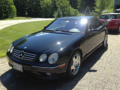 Mercedes-Benz : CL-Class AMG SPORTS PACKAGE 2001 mercedes benz cl 500 with amg sports package