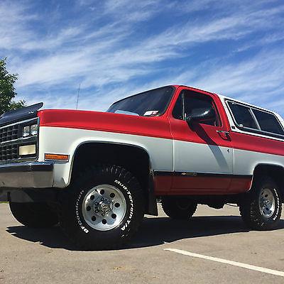 Chevrolet : Blazer 1990 chevy k 5 blazer excellent condition