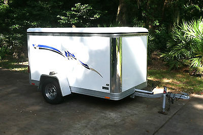 Wells Cargo 5' x 8' Enclosed Easy Load Multi-Purpose Trailer 2003