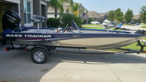 BassTracker Aluminum Bass Boat