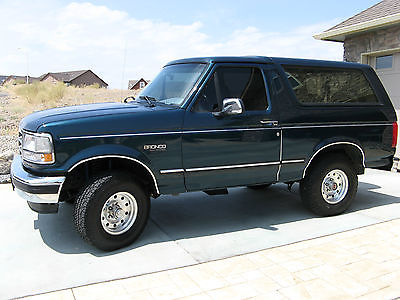 Ford : Bronco XLT 1994 bronco xlt loaded leather siriusxm bluetooth completely updated