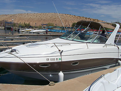 2006 Larson 28 ft. cabin cruiser, 300hp merc, Bravo three, duo prop.ONLY 52 HRS.