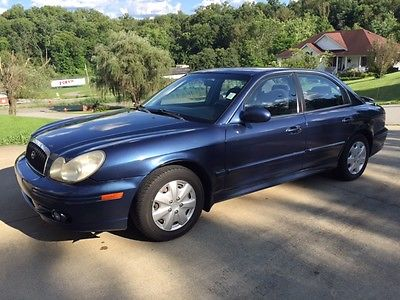 Hyundai : Sonata Base Sedan 4-Door 2004 hyundai sonata runs great new tires power windows and door locks