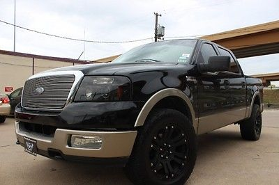 Ford : F-150 2004 ford f 150 supercrew lariat 4 wd dvd