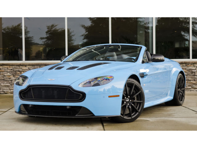 Aston Martin : Vantage 2015 aston martin v 12 vantage s highly optioned