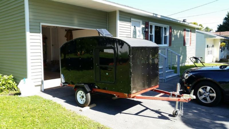 4x8' Customer Tear Drop Trailer