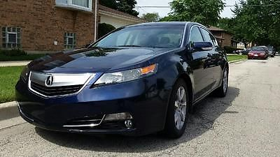 Acura : TL TL 2013 acura tl low miles new car smell 5 500 miles