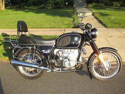 BMW : R-Series 1975 bmw r 90 6 vintage german motorcycle 900 cc excellent condition garaged